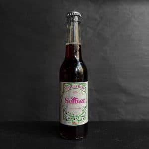 Solbær juice fra The House på gågaden i Aarhus