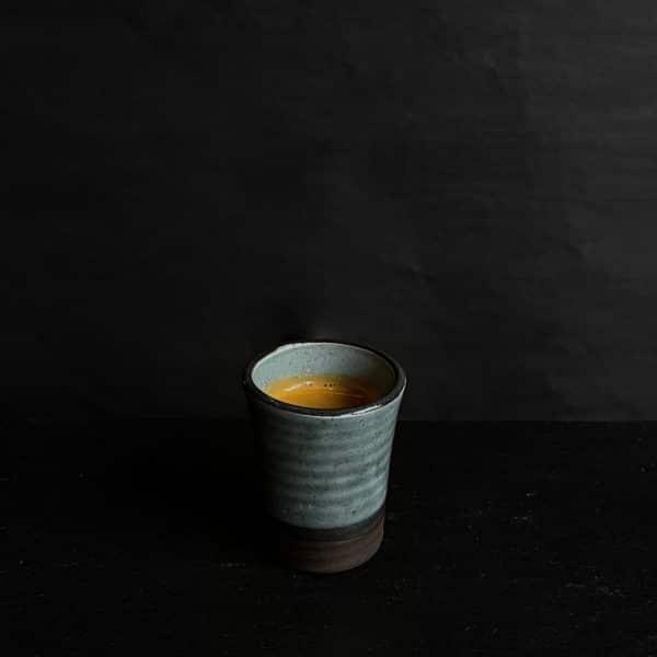 Shot med espresso fra The House på gågaden i Aarhus
